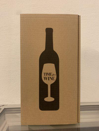 "2er Geschenkkarton ""time for wine"""